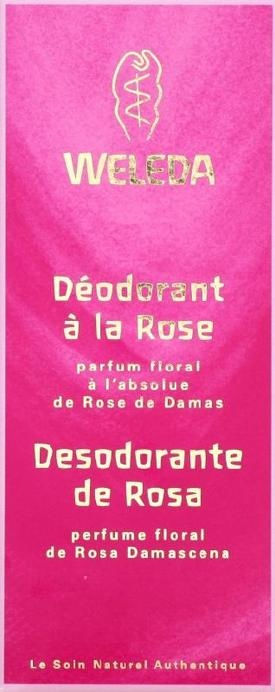 Déodorant ROSE spray 100 ml