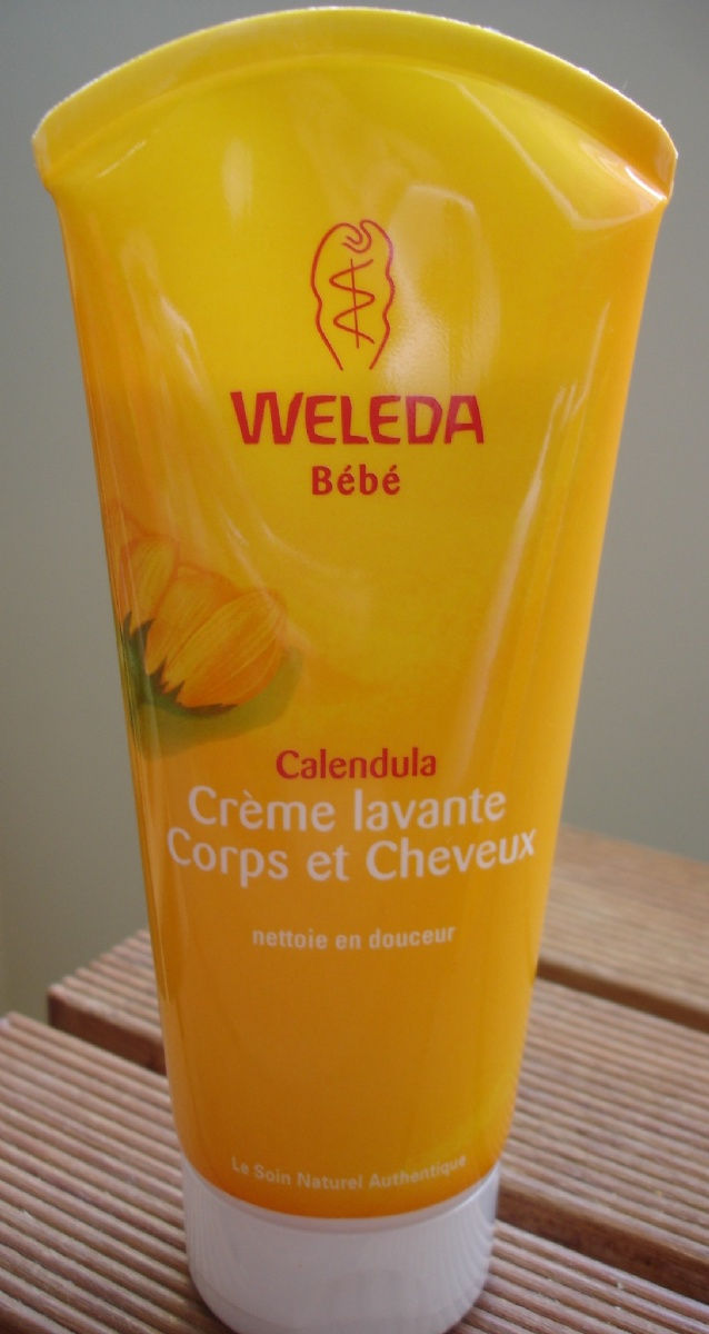 weleda b b cr me lavante b b corps et cheveux calendula 200ml gap. Black Bedroom Furniture Sets. Home Design Ideas